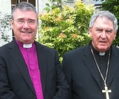 Bishops Liam MacDaid and John McDowell